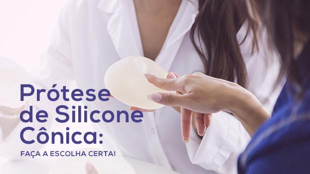 Prótese de Silicone Cônica