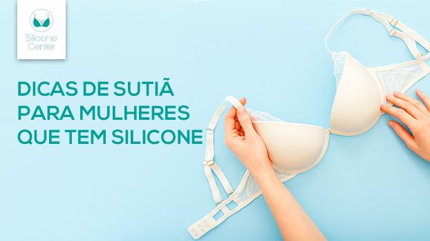 quem tem prótese de silicone pode usar sutiã com aro