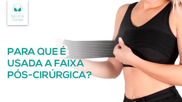 faixa pós-cirúrgica